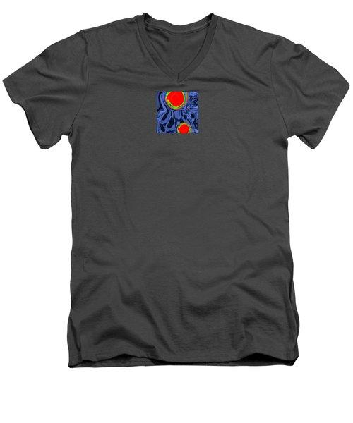 Ah Luvz Olives Couples Men's V-Neck T-Shirt