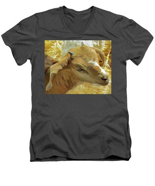 Just A Kid Men's V-Neck T-Shirt