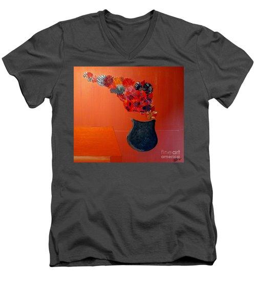 Just A Thought  Bill Oconnor Men's V-Neck T-Shirt by Bill OConnor