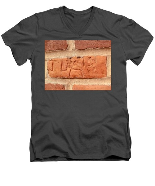 Just Another Brick In The Wall Men's V-Neck T-Shirt