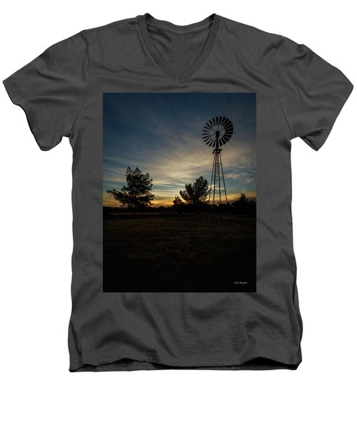 Just Before Sunrise Men's V-Neck T-Shirt