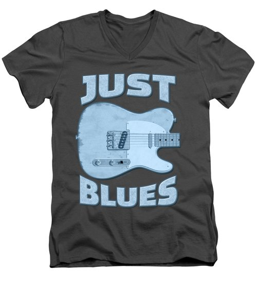 Just Blues Shirt Men's V-Neck T-Shirt