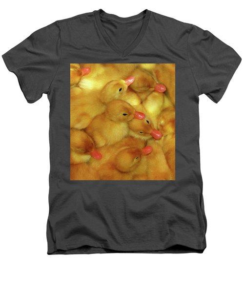 Just Ducky Men's V-Neck T-Shirt