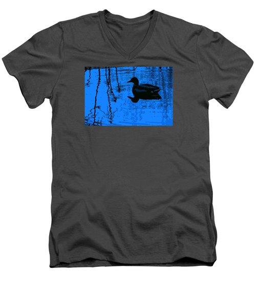 Just Floating Along Men's V-Neck T-Shirt