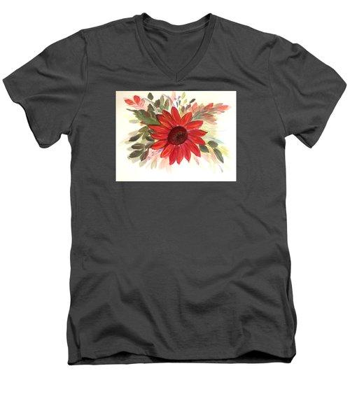 Just For You Men's V-Neck T-Shirt by Dorothy Maier