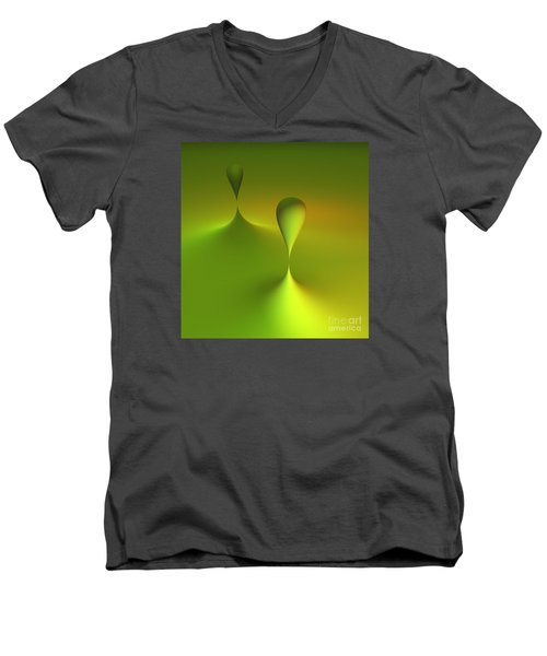 Just Globs Men's V-Neck T-Shirt