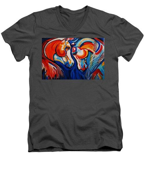 Just Horsing Around Men's V-Neck T-Shirt