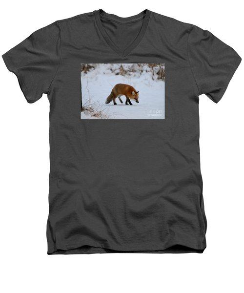 Just Hunting For Breakfast Men's V-Neck T-Shirt