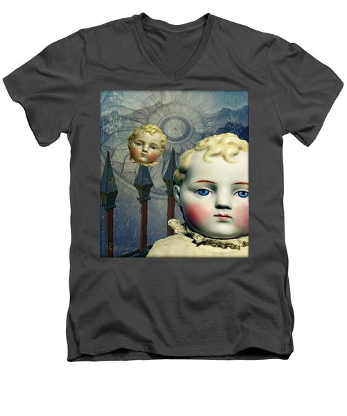 Just Like A Doll Men's V-Neck T-Shirt