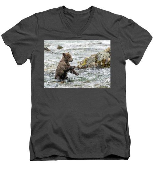 Just Practicing  Men's V-Neck T-Shirt