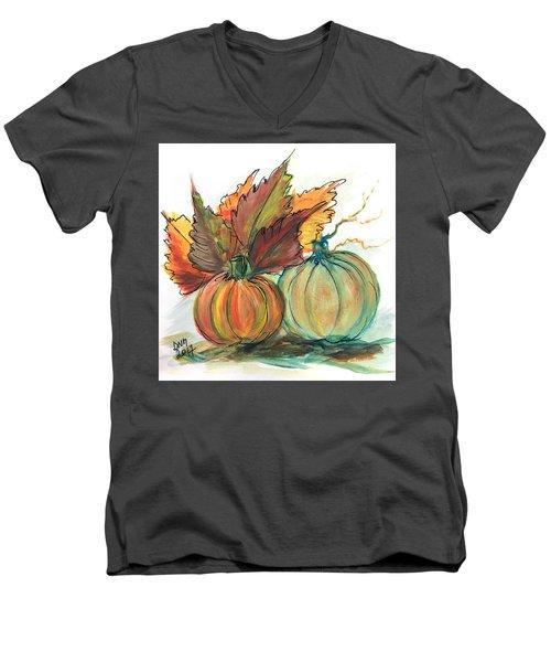 Just Pumpkins Men's V-Neck T-Shirt
