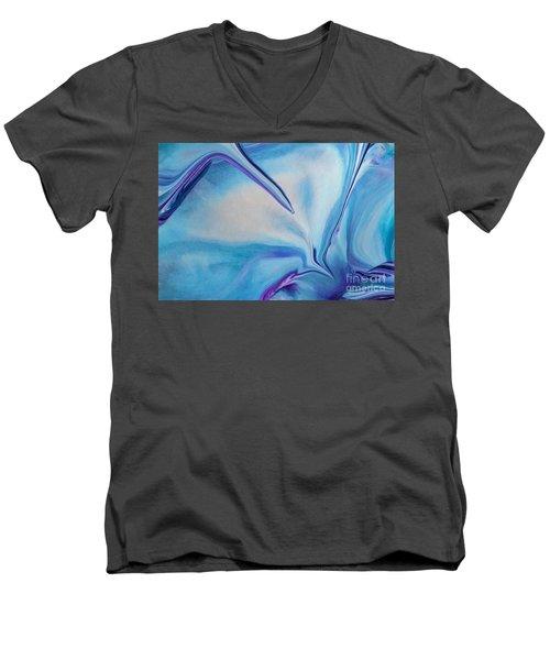Just Push Play Men's V-Neck T-Shirt