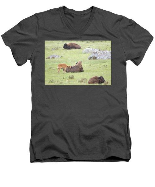 Just Resting My Eyes Men's V-Neck T-Shirt