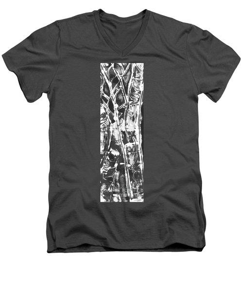 Justice Men's V-Neck T-Shirt by Carol Rashawnna Williams