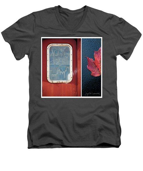 Juxtae #14 Men's V-Neck T-Shirt