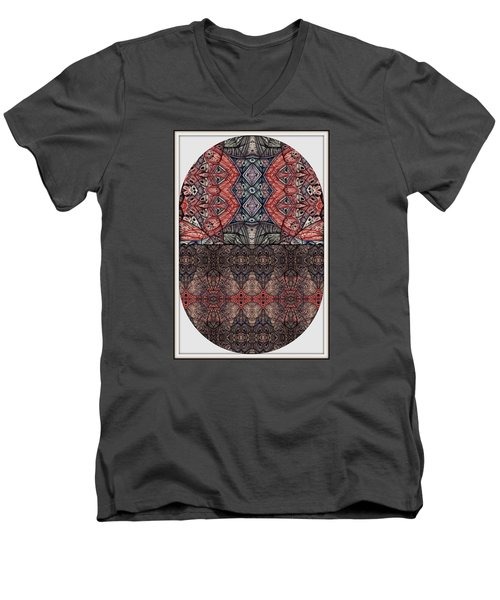 Men's V-Neck T-Shirt featuring the photograph Juxtaposition Image One by Jack Dillhunt