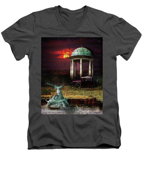 Juxtaposition Men's V-Neck T-Shirt