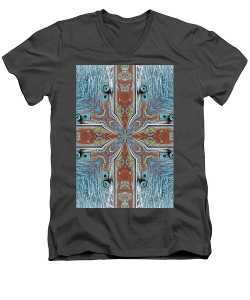 Men's V-Neck T-Shirt featuring the photograph K 112 by Jan Amiss Photography