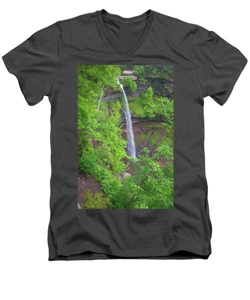 Kaaterskill Falls 2018 Men's V-Neck T-Shirt