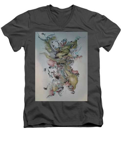 Kabuki Men's V-Neck T-Shirt