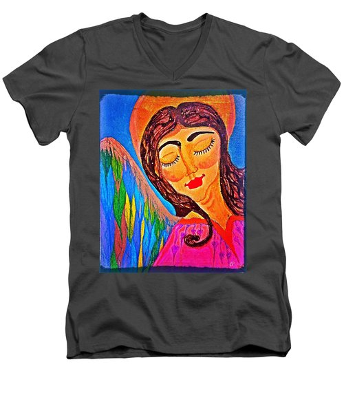 Kaeylarae Men's V-Neck T-Shirt