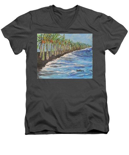 Kalapana Beach Men's V-Neck T-Shirt