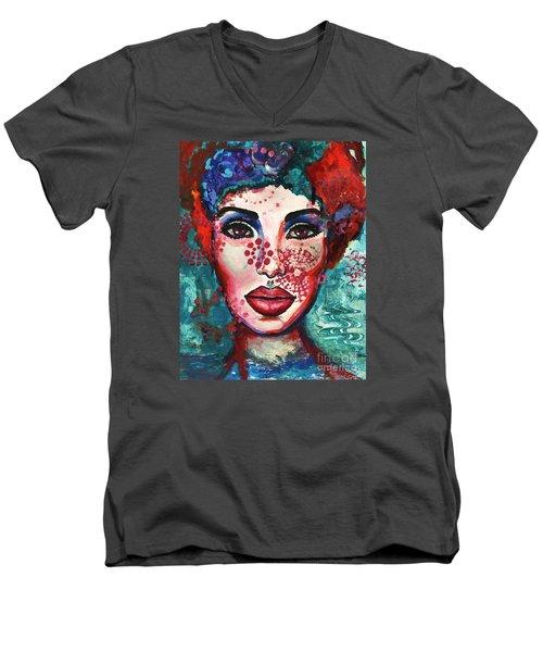 Kaleidoscope Men's V-Neck T-Shirt