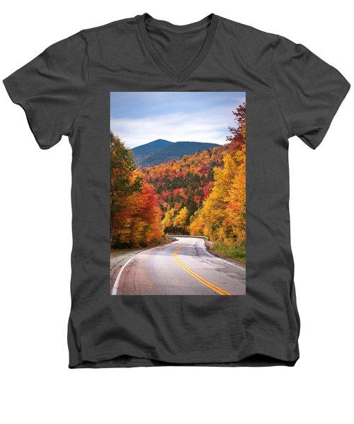 Kancamagus Highway Men's V-Neck T-Shirt