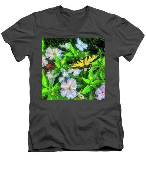 Karen's Garden Men's V-Neck T-Shirt