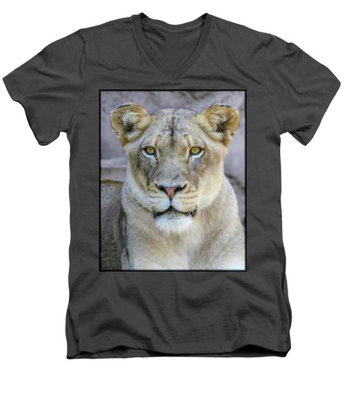 Kaya Portrait Men's V-Neck T-Shirt