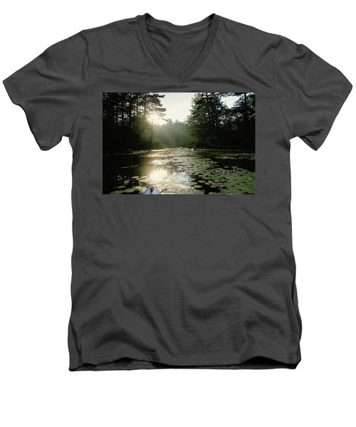 Kayaking Men's V-Neck T-Shirt