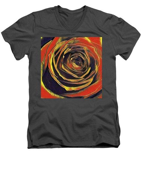 Kayla Rose Men's V-Neck T-Shirt
