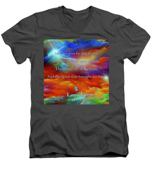 Kaypacha August 17,2016 Men's V-Neck T-Shirt