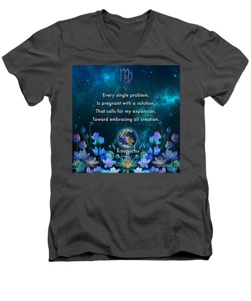 Kaypacha's Mantra 10.28.2015 Men's V-Neck T-Shirt