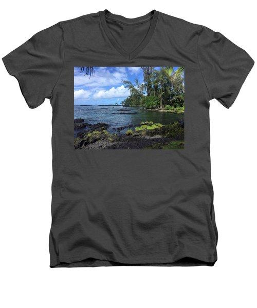 Keaukaha  Men's V-Neck T-Shirt