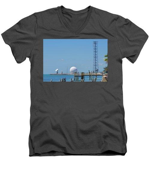 Keeping An Eye Out Men's V-Neck T-Shirt