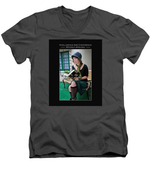 Kellie Peach 5-69 Men's V-Neck T-Shirt