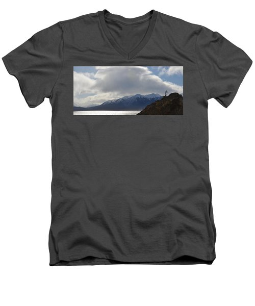Kenai Peninsula Men's V-Neck T-Shirt