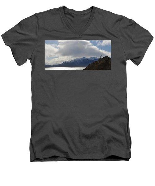 Kenai Peninsula Men's V-Neck T-Shirt
