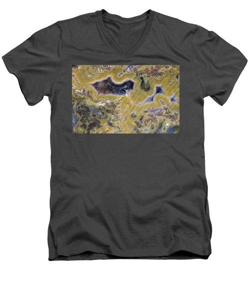 Kentucky Agate Men's V-Neck T-Shirt