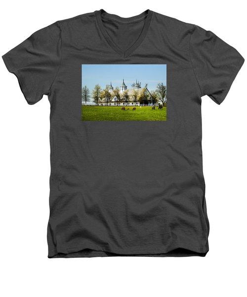 Revised Kentucky Horse Barn Hotel 2 Men's V-Neck T-Shirt