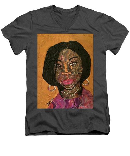 Kenya Men's V-Neck T-Shirt