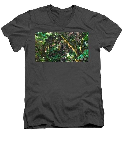 Ketchikan Green Men's V-Neck T-Shirt