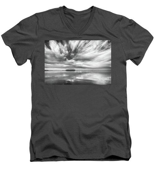 Key Largo Sunset Men's V-Neck T-Shirt