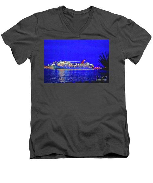 Key West Cruising  Men's V-Neck T-Shirt