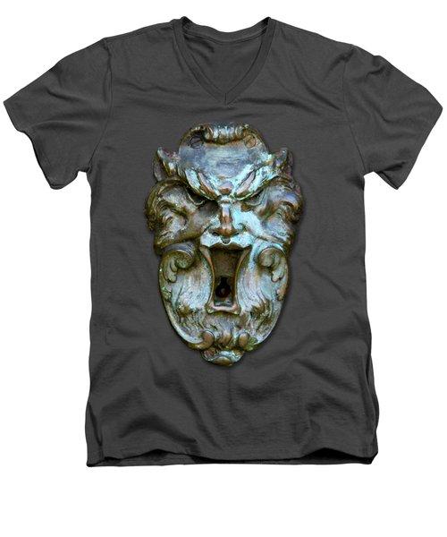 Keyhole To My Heart Men's V-Neck T-Shirt by Bob Slitzan