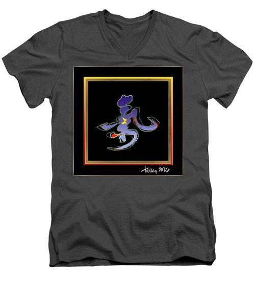 Ki  Men's V-Neck T-Shirt