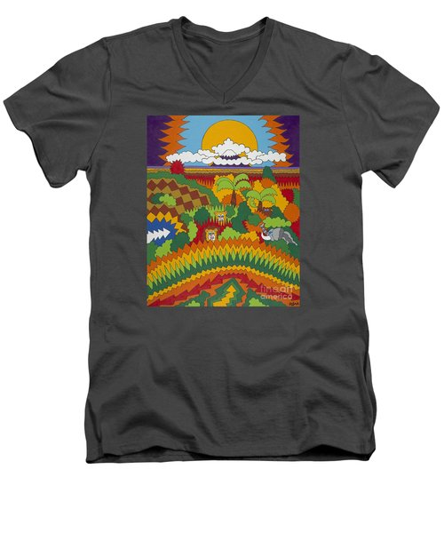 Kilimanjaro Men's V-Neck T-Shirt