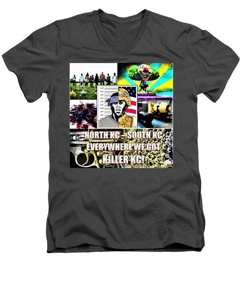 Killer Kc Men's V-Neck T-Shirt
