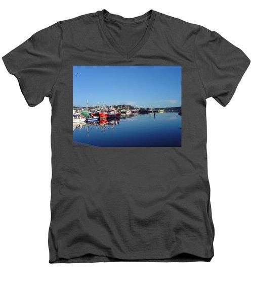 Killeybeggs Harbor Men's V-Neck T-Shirt